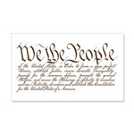 We the People Wall Decal