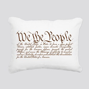We the People Rectangular Canvas Pillow