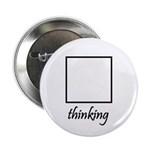 """Thinking Box 2.25"""" Button (100 pack)"""