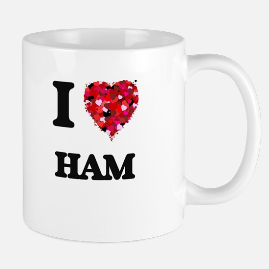 I love Ham Mugs