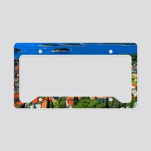 Croatia Inlet License Plate Holder