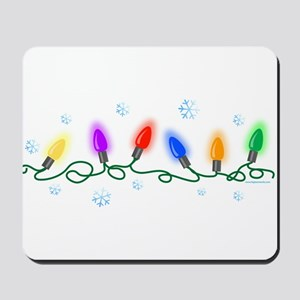 Holiday Lights Mousepad