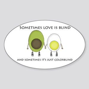 Colorblind Love Sticker