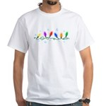 Holiday Lights White T-Shirt