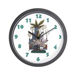 Hopi Kachina Wall Clock
