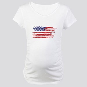 home of the brave Maternity T-Shirt