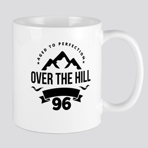 Over The Hill 96th Birthday Mugs