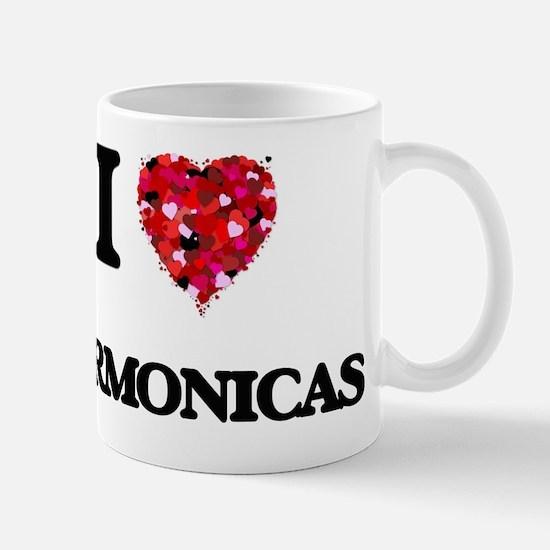 I love Harmonicas Mug
