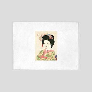 Choko Kamoshita Maiko 5'x7'Area Rug