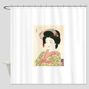Choko Kamoshita Maiko Shower Curtain