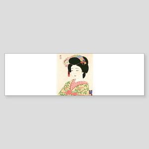 Choko Kamoshita Maiko Bumper Sticker
