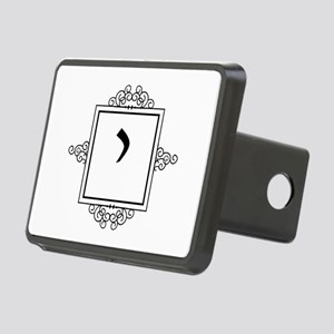 Yod Hebrew monogram Rectangular Hitch Cover