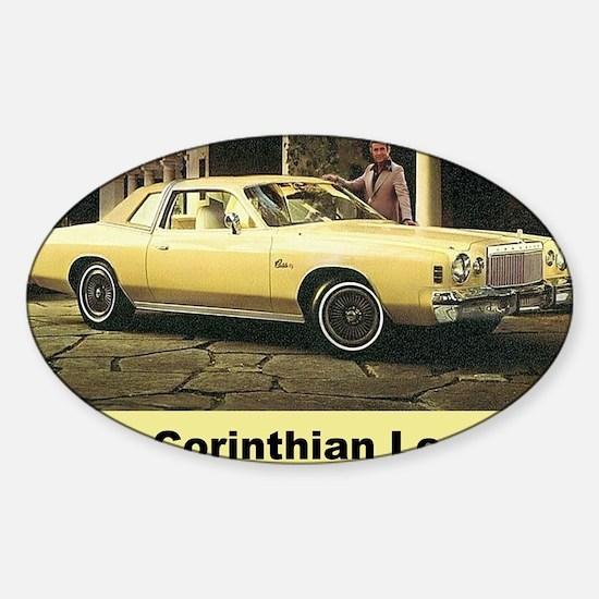 1977 Chrysler Cordoba Decal