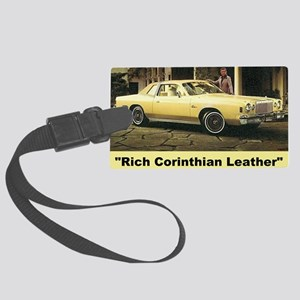 1977 Chrysler Cordoba Luggage Tag