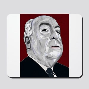 Alfered Hitchcock Mousepad