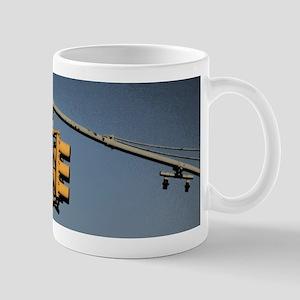 Traffic Lights New York City Mugs