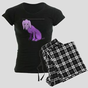 Purple Dog Women's Dark Pajamas