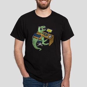 Office T-Rex Dark T-Shirt