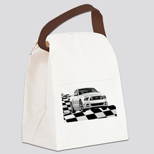 14WHMustangGTCB Canvas Lunch Bag