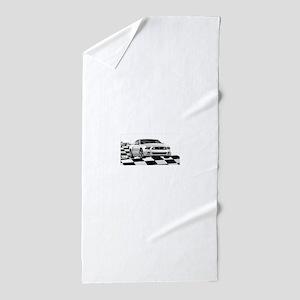 14WHMustangGTCB Beach Towel