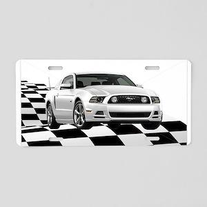 14WHMustangGTCB Aluminum License Plate