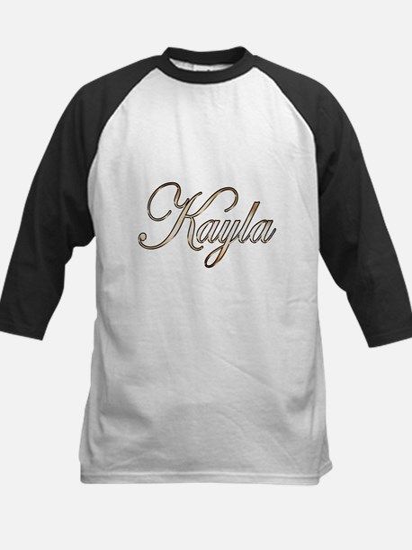 Gold Kayla Baseball Jersey