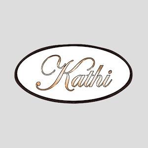 Gold Kathi Patch