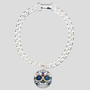 Skull Charm Bracelet, One Charm