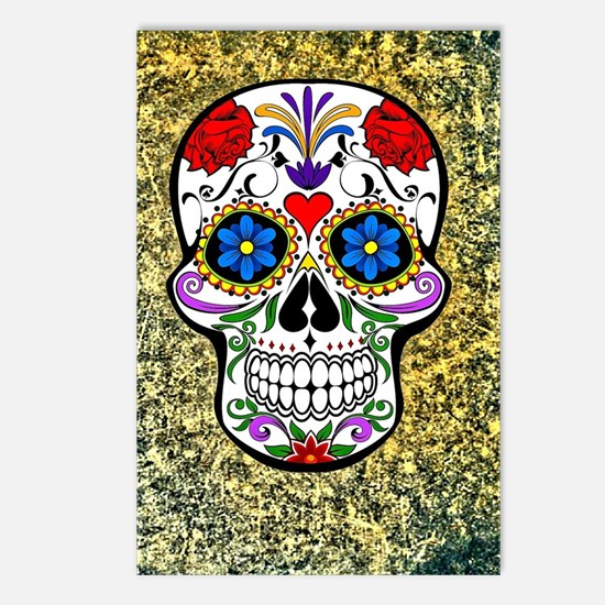 Skull Postcards (Package of 8)