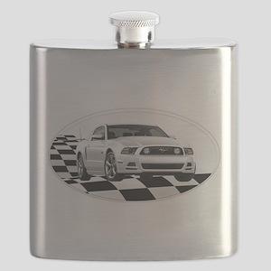 2014WHMustangGTov Flask