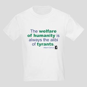Albert Camus Kids Light T-Shirt