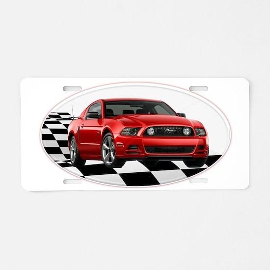 2014RRMustangGT Aluminum License Plate
