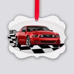 2014RRMustangGT Picture Ornament