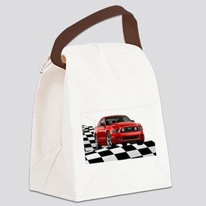 2014RRMustangGT Canvas Lunch Bag