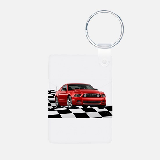 2014RRMustangGT Keychains