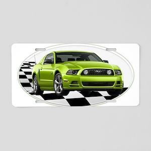 GHGMustangGT Aluminum License Plate