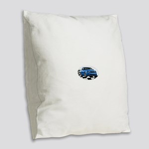 GB14MustangGT Burlap Throw Pillow