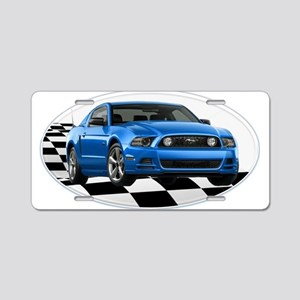 GB14MustangGT Aluminum License Plate