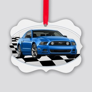 GB14MustangGT Picture Ornament