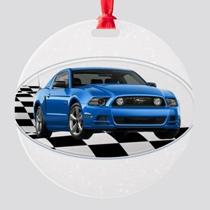GB14MustangGT Round Ornament