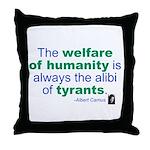 Albert Camus Throw Pillow