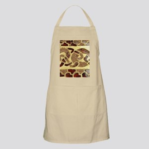 Garnet and Gold Jewelry Apron