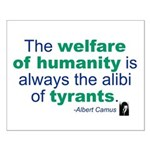 Albert Camus Small Poster
