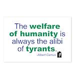 Albert Camus Postcards (Package of 8)
