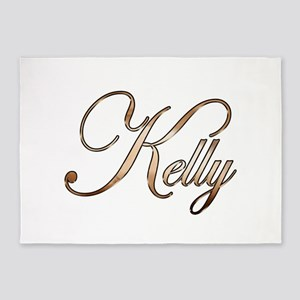 Gold Kelly 5'x7'Area Rug