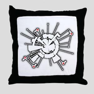Alpha Base Throw Pillow