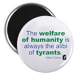 "Albert Camus 2.25"" Magnet (100 pack)"