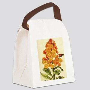 Wallflower by Merian Canvas Lunch Bag