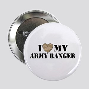 I Love My Army Ranger Button