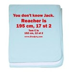 You Dont Know Jack baby blanket